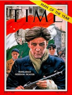 Time Magazine cover from 1957